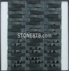 Arch Crystal Glass Mosaic Tile SFQ6401