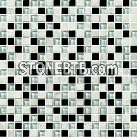 Crystal Mix Stone Mosaic Tile (SF15007)