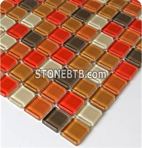 Glass Mosaic Tile SSF23032