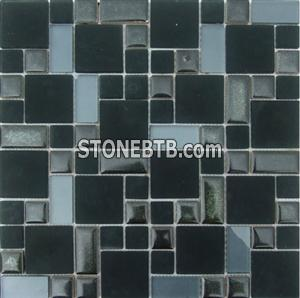 Crystal Mix Ceramic Mosaic Tiles TSF4806