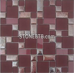 Crystal Mix Ceramic Mosaic Tiles SAX4803