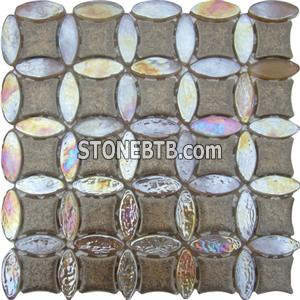 Crystal Mix Ceramic Mosaic Tiles (SS5011)