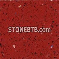 Sliver Star Red(Red Artificial Stone, Red Artificial Marble, Man Made Marble)