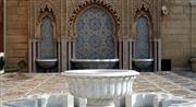 Burdur White Marble Mosque Fountain