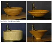 Bali Honey Natural Stone Sinks