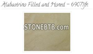 Alabastrino Travertine Tiles Filled and Honed - 69