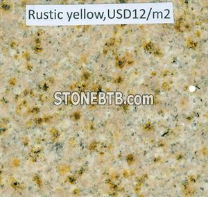 rustic yellow granite