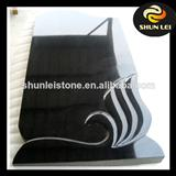 black granite gravestone for sale