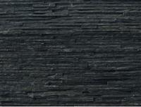 black water thin natural slate stone veneer