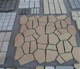 Yellow paving stone