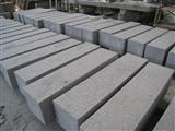 Grey granite kerbstone