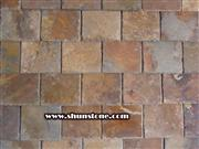 china rust color natural slate