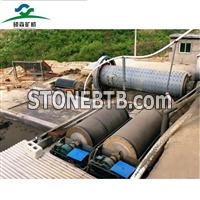 iron magnetic separator working with ball mill