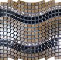 Marble Mosaic Mix Glass and Stainless Steeel PT128