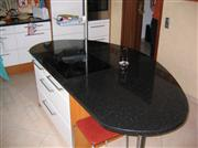 Star Galaxy granite island 3cm