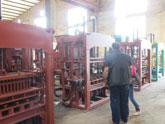 Our block making machine