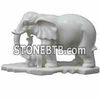 stone animals sculpture