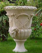 Natural stone carve flower pots for garden decoration