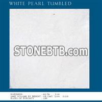 White Pearl Tumbled