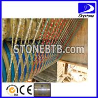 Multi diamond wire saw