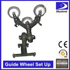 Guide pulley set up