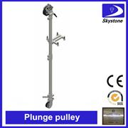 Plunge pulley