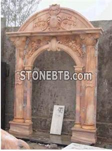Door Surround, Marble Carving, Stone Craftworks