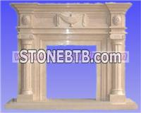 stone fireplace,stone carving,marble carving