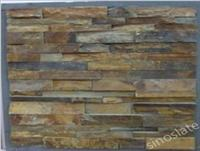 Glued Ledgestone Slate Panels