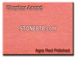 Agra Red Polished Sandstone