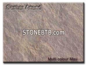 multi colour mau Slate