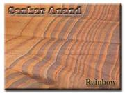 rainbow-polished Sandstone