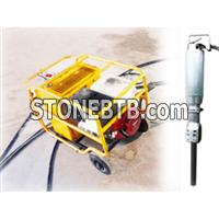 Hydraulic Rock Splitter Control Hydraulic Demolition Method