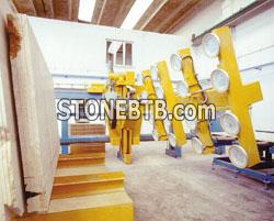Loader and unloader for slabs CL 2000