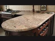 Bordeaux Salmon Granite Countertop
