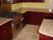 Ivory brown granite countertops