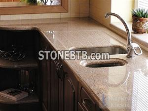 Golden Crystal China Granite Countertop