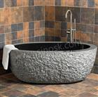 Granite bathtub - shanxi black
