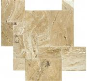 Travertine French Pattern Tile - Picasso