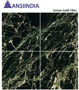 Green Gold Marble