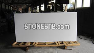 Super Polished Nano Crystallized Glass Stone Slab with Preeminent Material