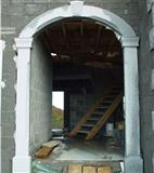 Arc Door (light grey granite)