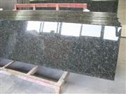 China Butterfly Green granite prefabricated counte