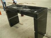 Black Granite Bathroom Vanity Top