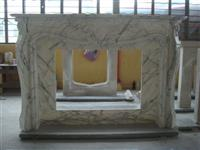 Carrara Fireplace