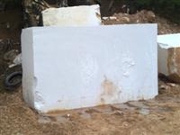 Thassos white marble blocks