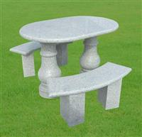 Granite Marble Stone Table and Chairs