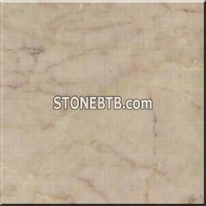 Polished Marble Tiles - Red Cream Marble