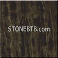 China Coffee Marble Floor Tile