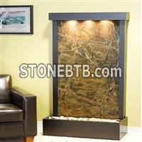 Stone water wall for decoration